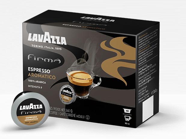 capsule espresso aromatico Lavazza Firma