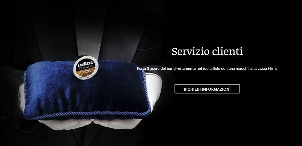 Servizio Clienti Lavazza Firma Numero Verde Gratuito 800 034 590