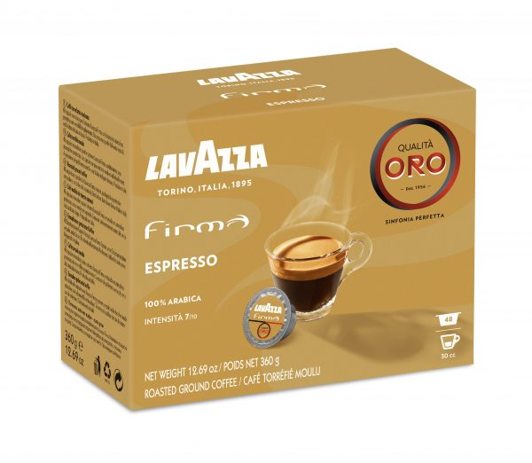 capsule caffè Lavazza Firma qualità Oro