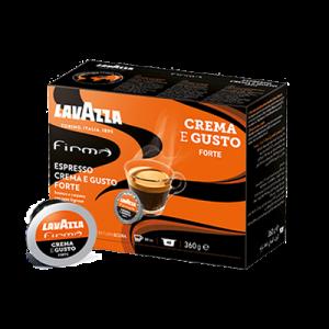 Crema Gusto Forte capsule Lavazza Firma