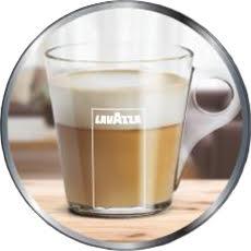 Iconica tazza in vetro Lavazza Firma Inovy Custom Milk